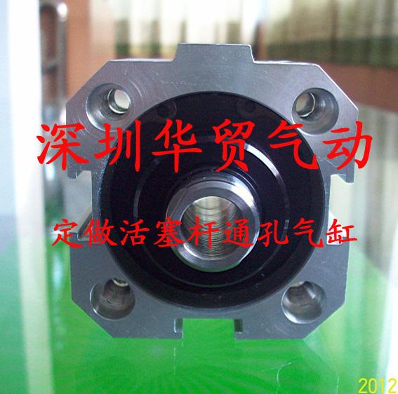 厂价直销活塞杆中空气缸SDA50*5 通孔气缸定做