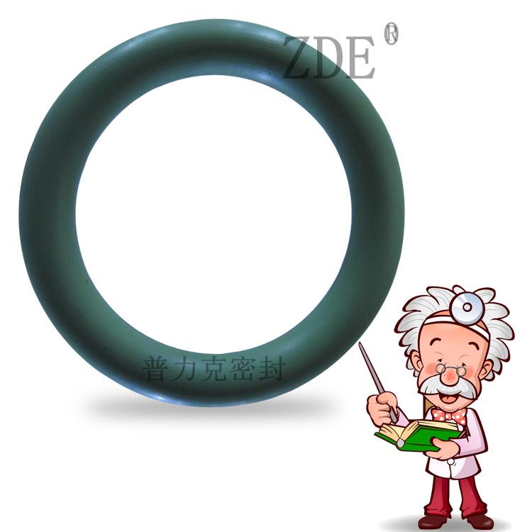 进口绿色氟胶O型圈、耐高温密封圈