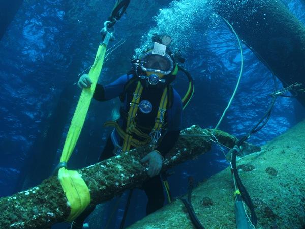 福州海龙水下工程水下顶管法供应服务周到