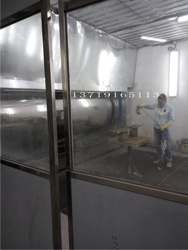 汕头无尘喷漆房水帘柜打磨房厂家大量供应