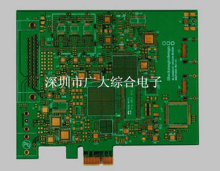 金手指pcb板,bga电路板加工,100Ω阻抗板,深圳线路板工厂