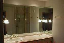 太原玻璃门隔断定制安装浴室镜