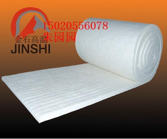 供应金石节能保温材料耐火棉硅酸铝陶瓷纤维甩丝毯
