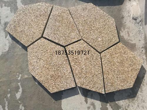 黄金麻冰裂纹石材-浙江