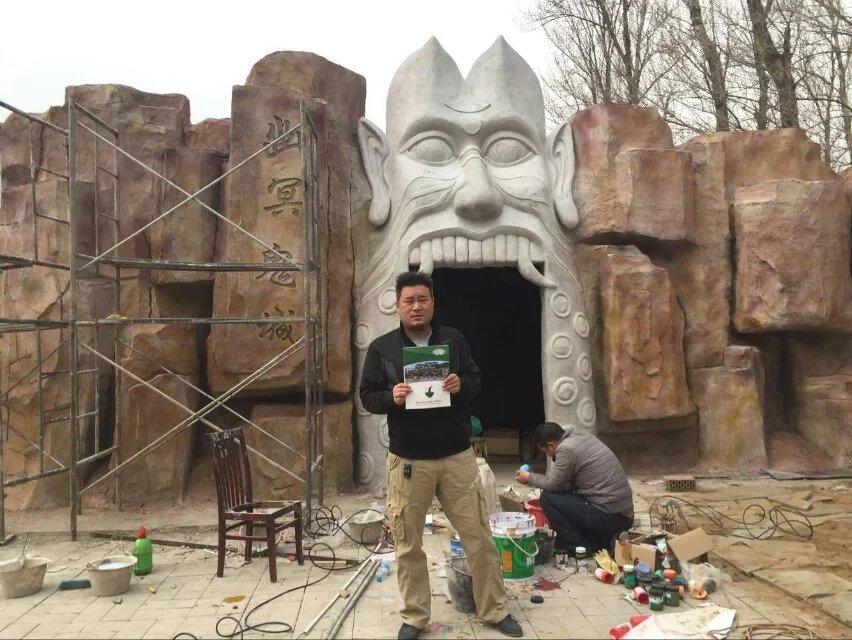 武汉石头刻字石雕石刻价格-湖北塑石塑树·假山·玻璃钢·水景师傅