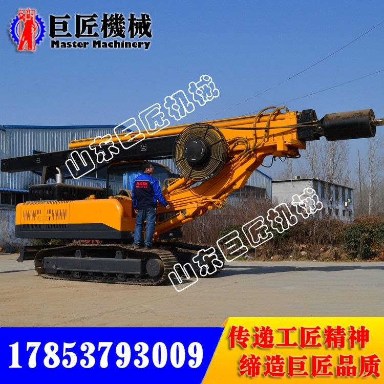巨匠15米履带方杆旋挖钻机 小型民用基建旋挖机性能可靠