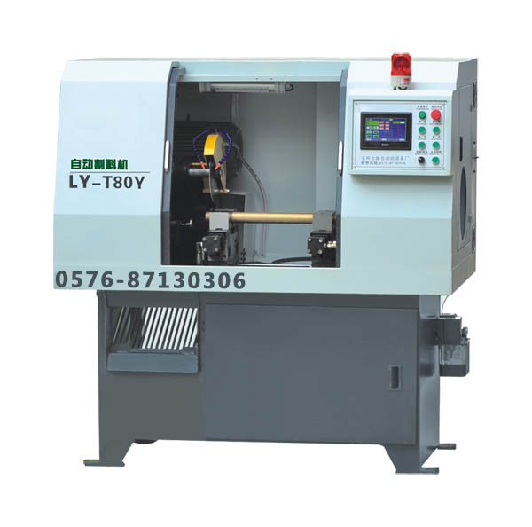 铝管自动切割机技术领先 力扬铝棒切割机