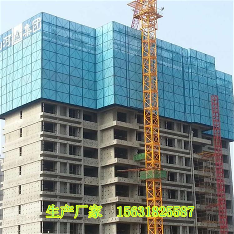 供应爬架网 集成爬架安全网建筑安全防护板网 提升架网