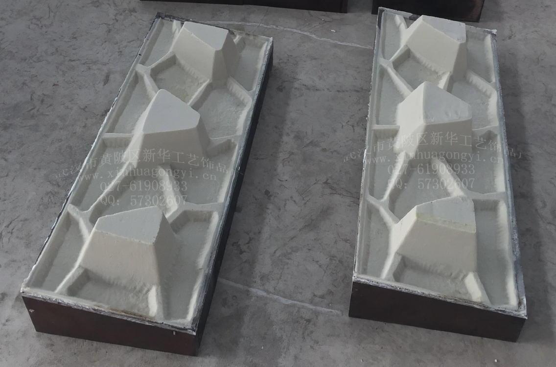 护岸护坡模具 阶梯式挡墙模具、缝隙式挡墙模具