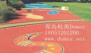 彩色透水混凝土地坪的特点优势