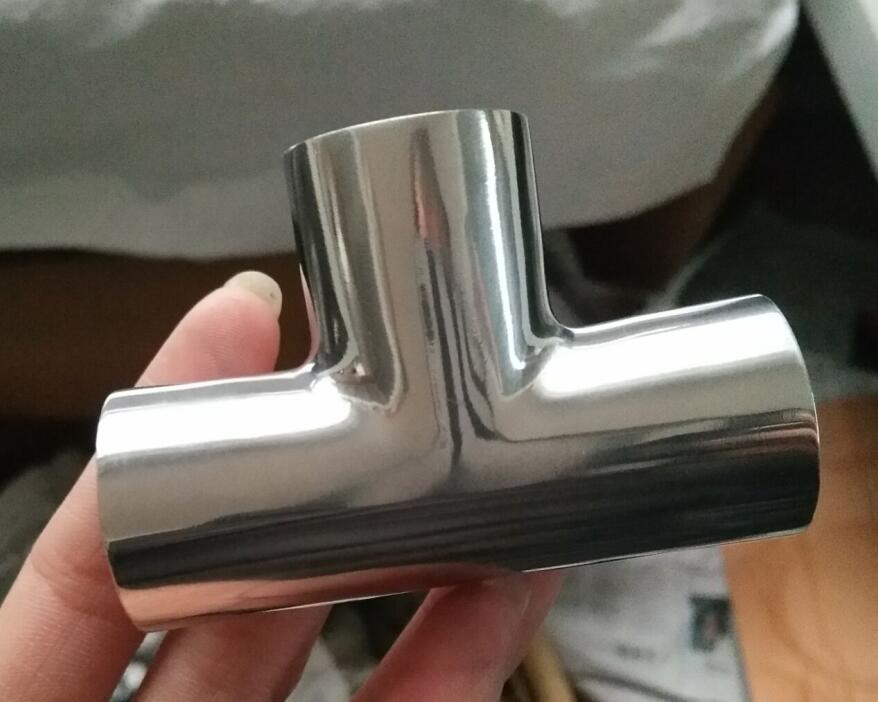 卫生级不锈钢焊接三通厂家直销