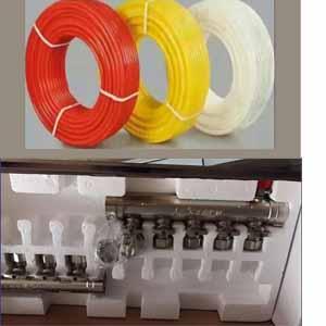 供青海地暖分集水器和西宁地暖管公司