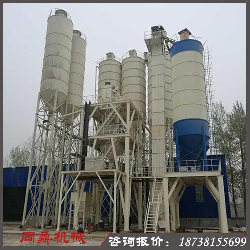 预拌砂浆搅拌站  预拌砂浆生产线  同鼎机械 干混站