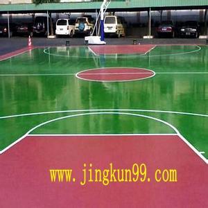 成都球场地坪漆 旧球场地坪漆改造 球场地坪设计
