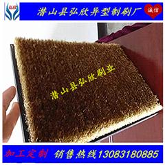 弘欣刷业定制PCB放电板 焊接行业放电网刷 pvc铜丝板刷