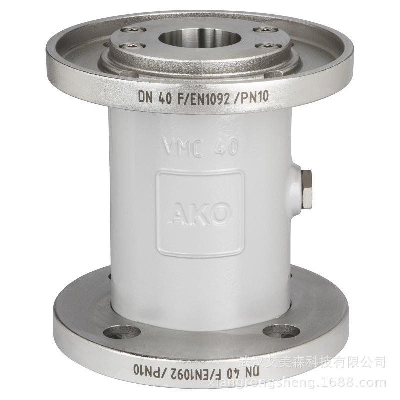 德国AKO   VMC气动夹管阀/气动管夹阀-ANSI法兰连接