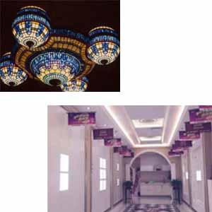 供甘肃彩绘玻璃吊顶和兰州全房复式吊顶供应商