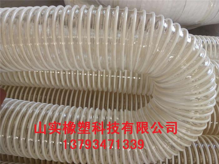 青岛物料输送软管 木工专用塑筋管 塑筋增强软管