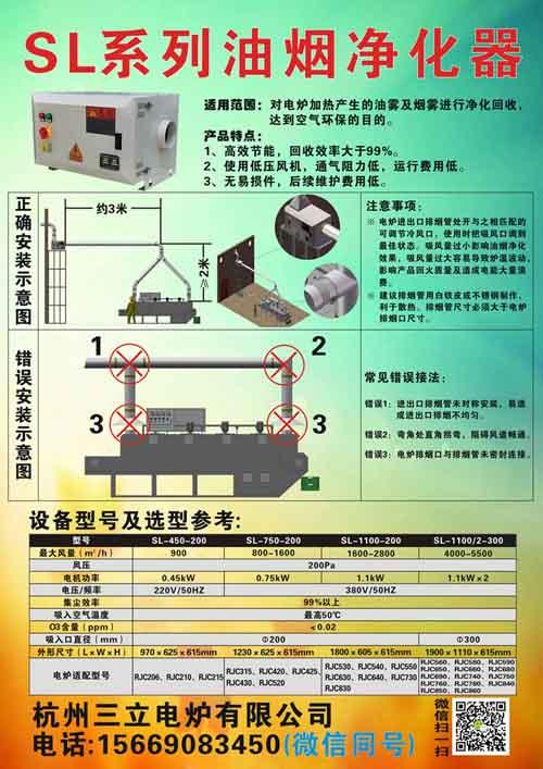 SL-1100-200油烟净化器