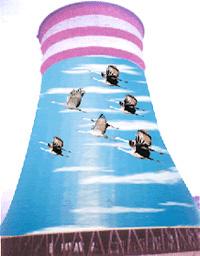 开平市水泥烟囱刷航标公司创新企业