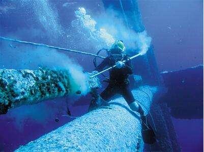 内江市水下管道清污水下清理螺旋桨缠绕物公司