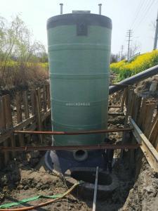 上饶雨水泵站造价玻璃钢筒体一体化预制泵站施工方案_图文
