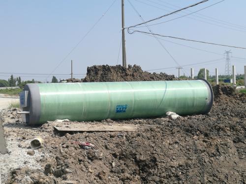 宁夏污水提升泵站 一体化污水预制泵站