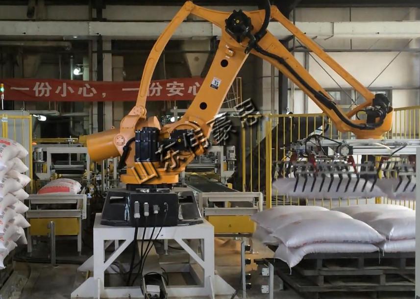 搬運糧食拆垛機器人 料袋機器人拆垛機